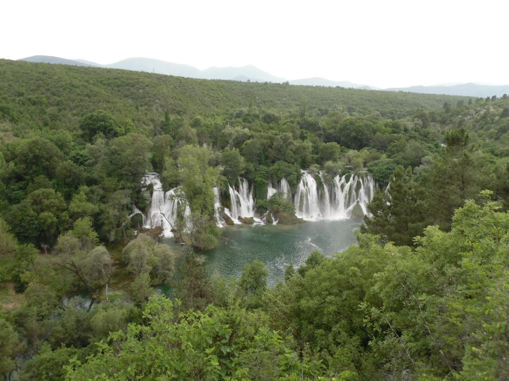 Bosnia waterfalls