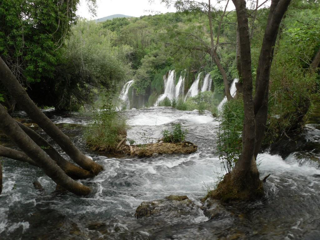 watervallen van Kravica