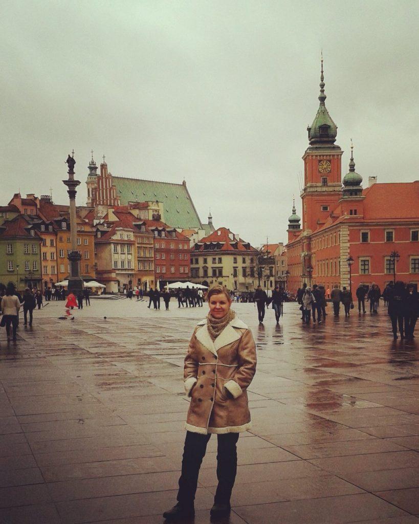 Oude stad Warschau