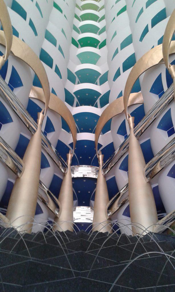 Burj al Arab fountains