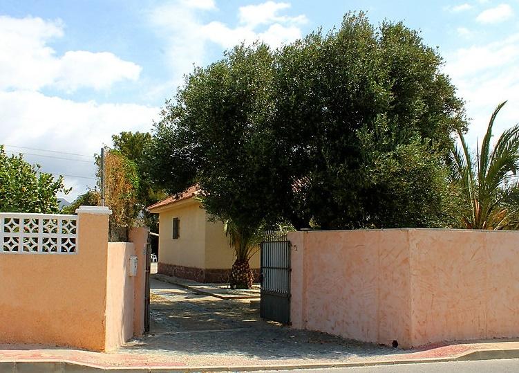 ingang vakantiewoning
