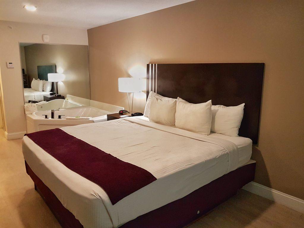 Jacuzzi suite Avanti resort