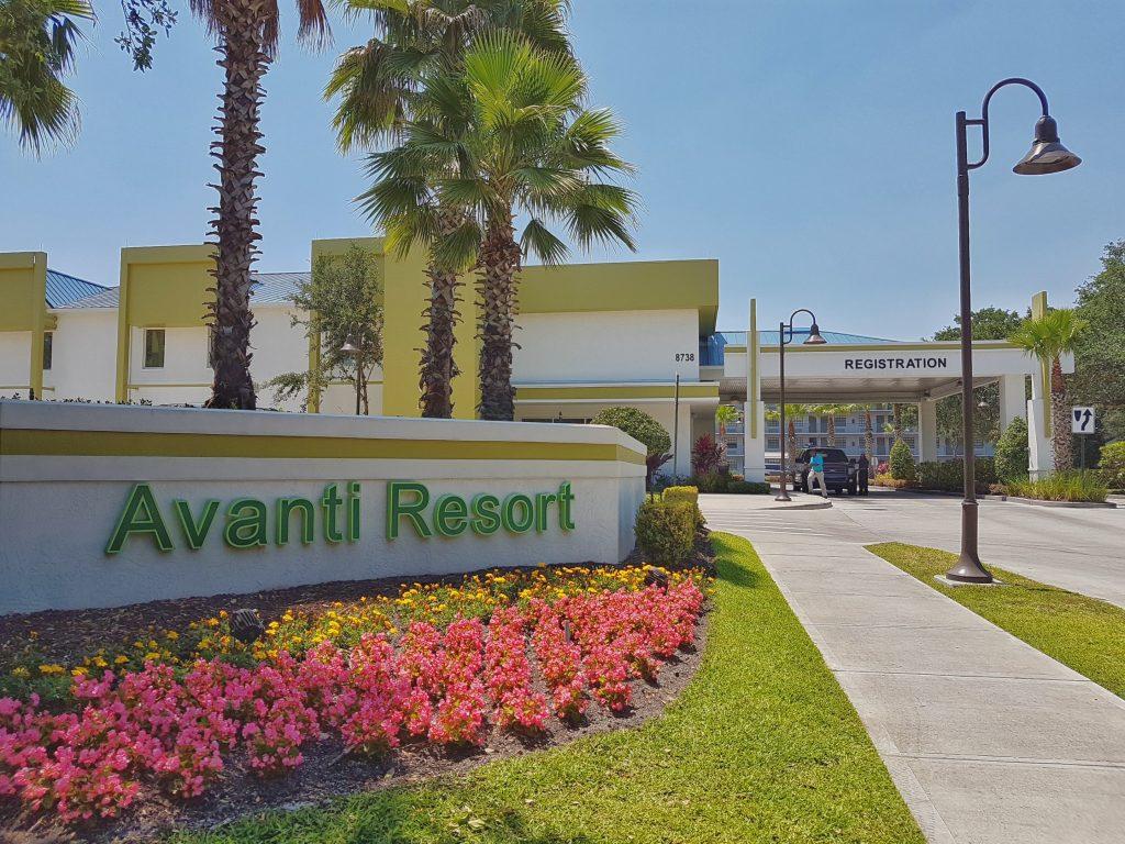 Lobby Avanti resort
