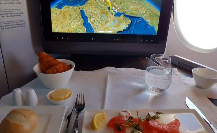 Qatar business class