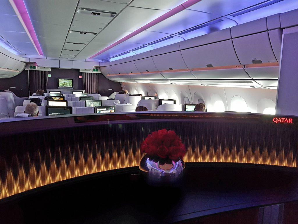 A350 business class
