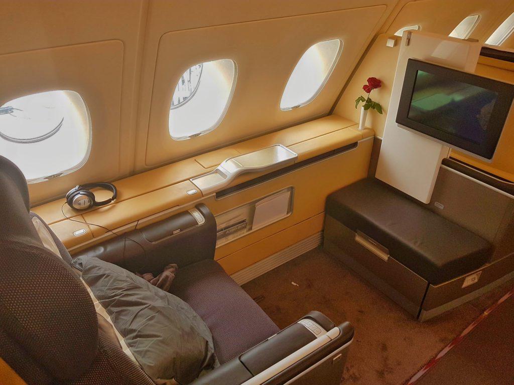 lufthansa first class