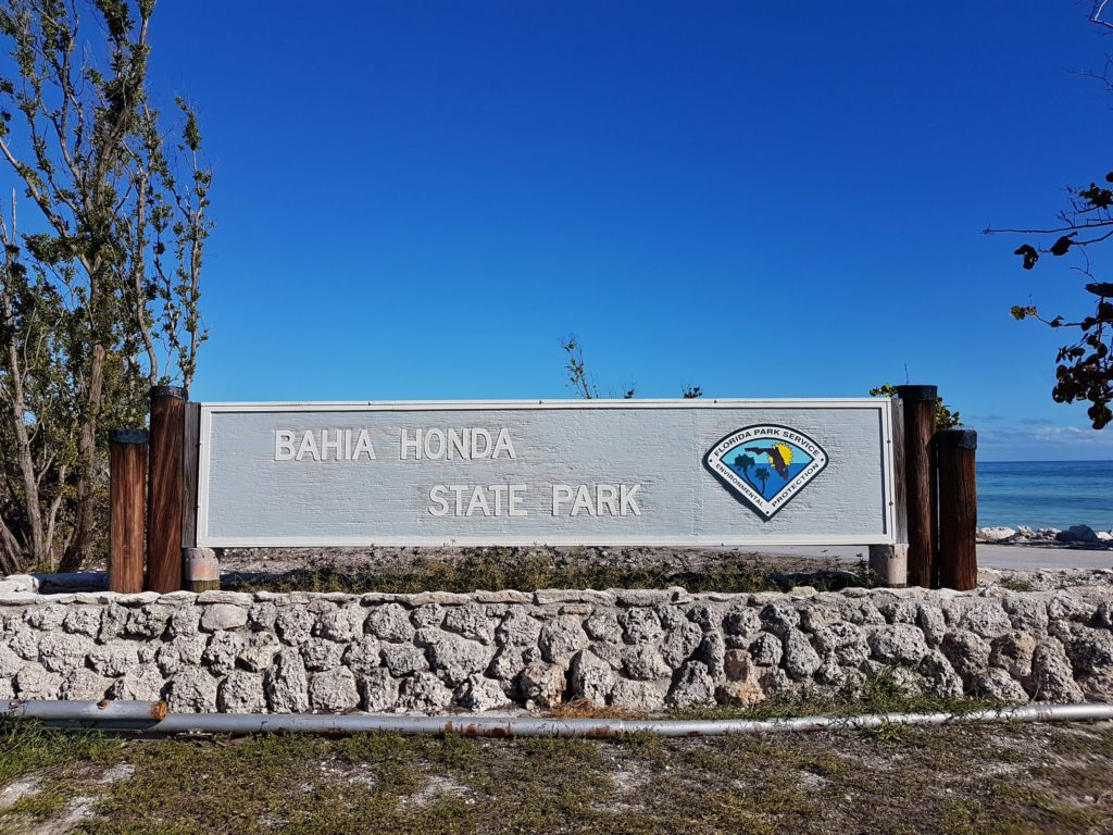 bahia honda sign