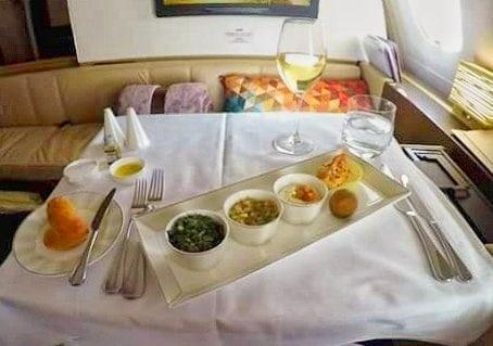 Mezze Etihad first class