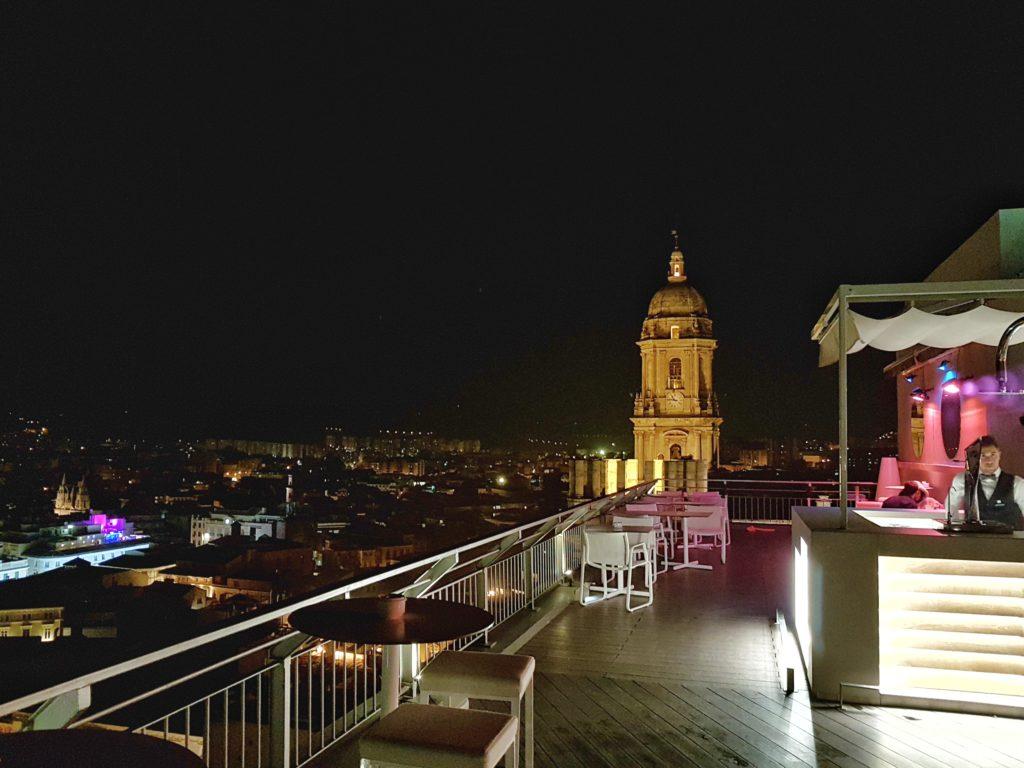 rooftop bar malaga