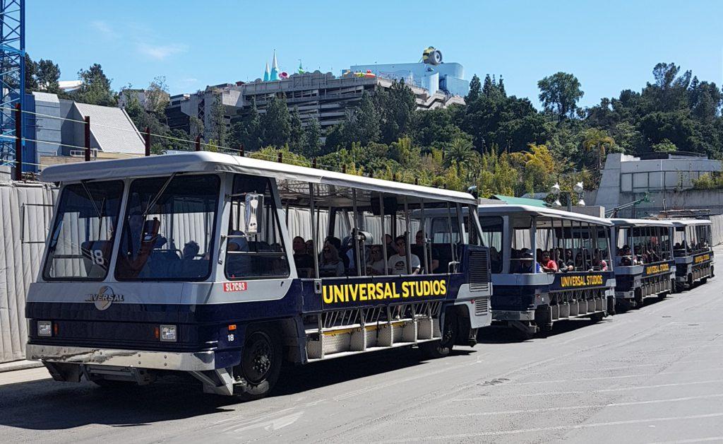 tram tour universal studios