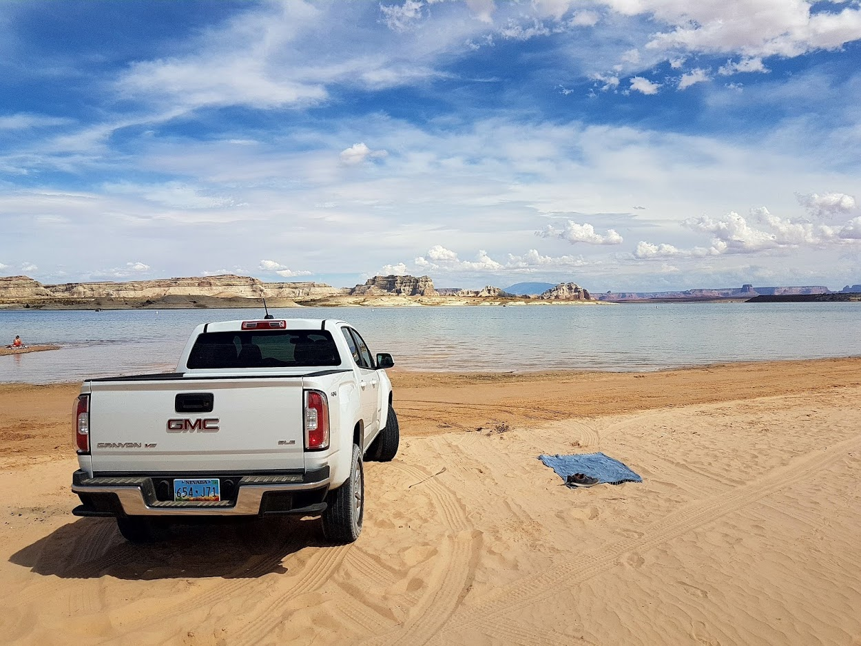Lake Powell Strandparking