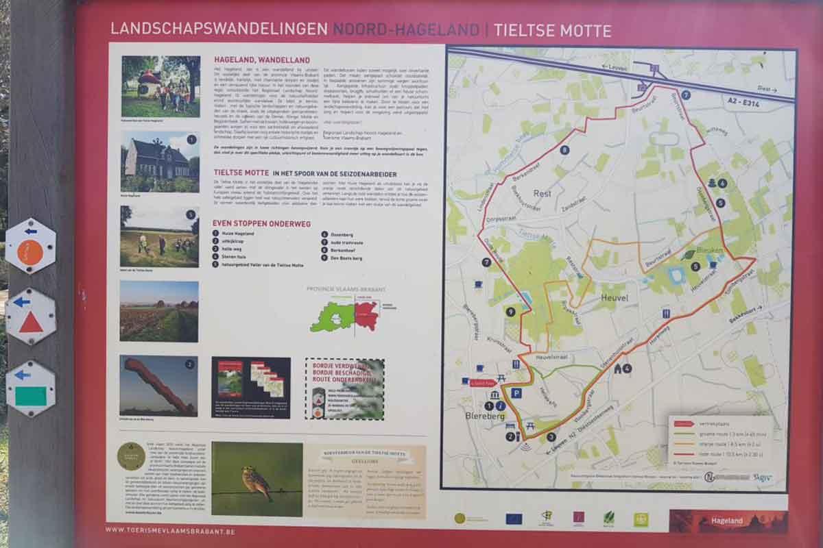 landschapswandeling Noord Hageland