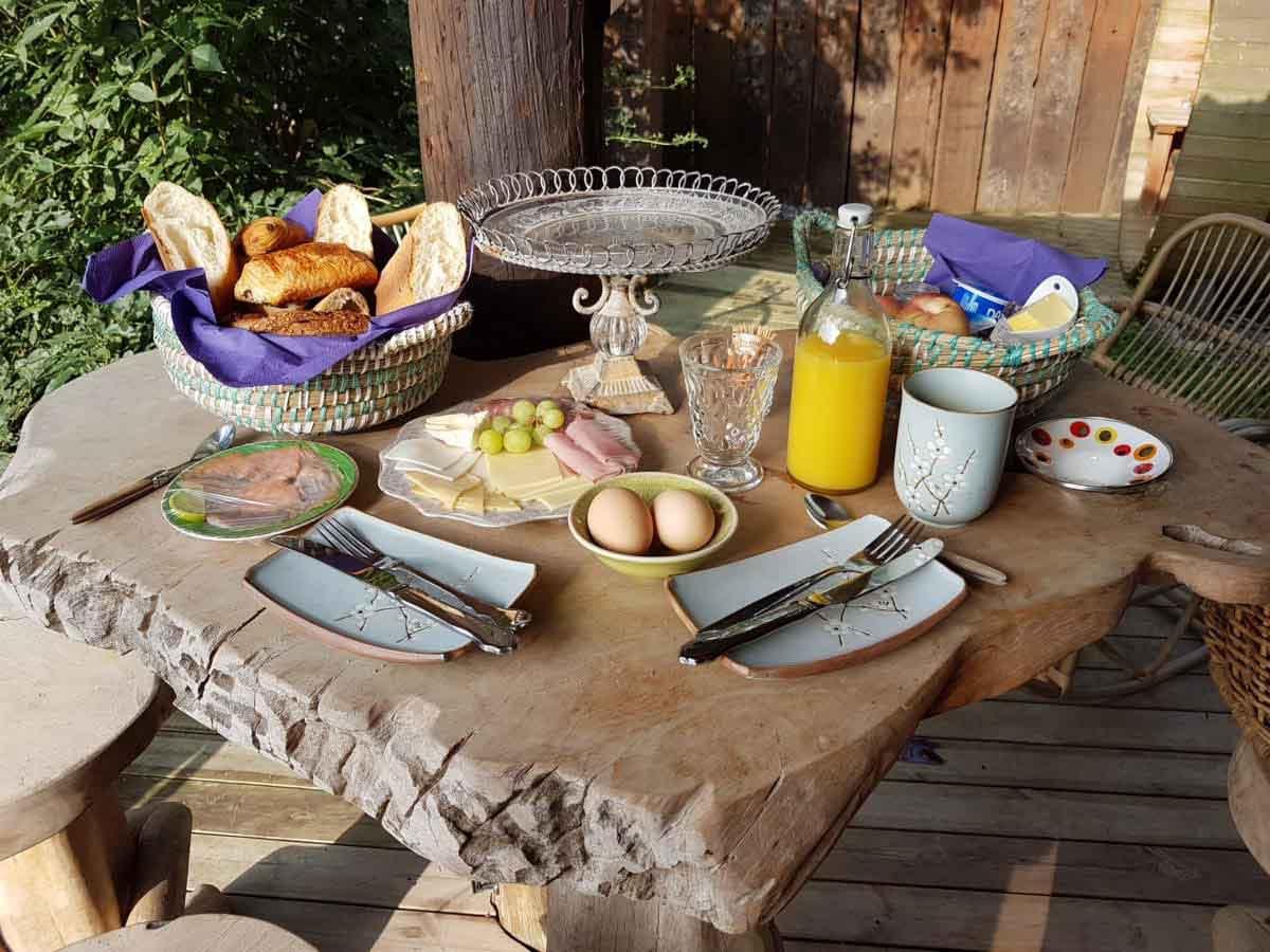 le manoir dange ontbijt