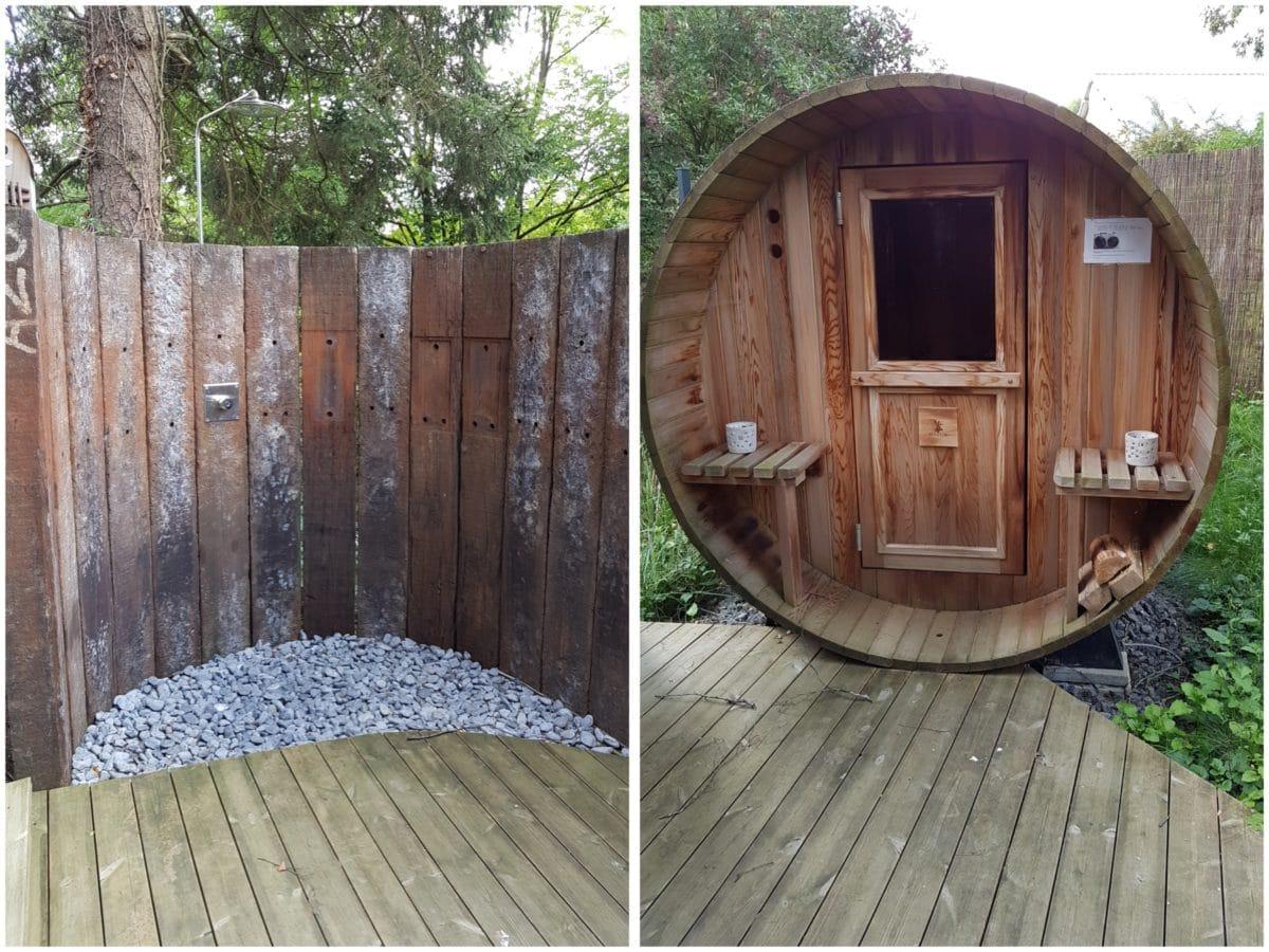 le manoir d'ange sauna