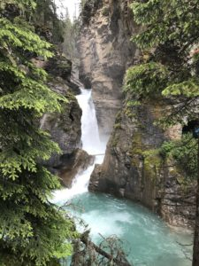 11 waterval Johnston Canyon Trail