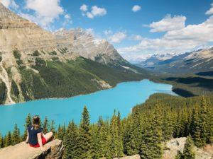rondreis west canada peyto lake