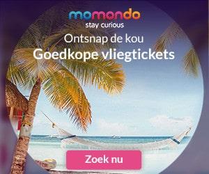 momondo vliegtickets banner