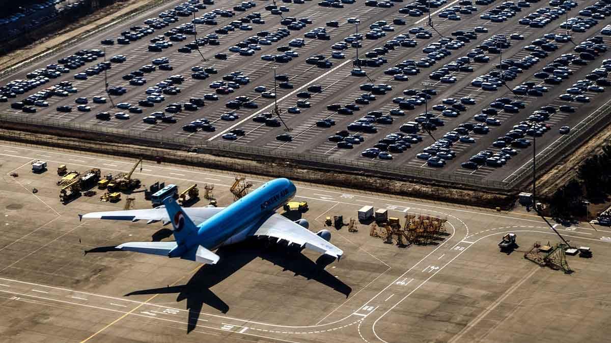 parkeren bij luchthaven Zaventem