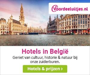 Voordeeluitjes Hotels België banner