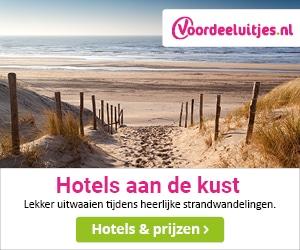 Voordeeluitjes Hotels Kust banner