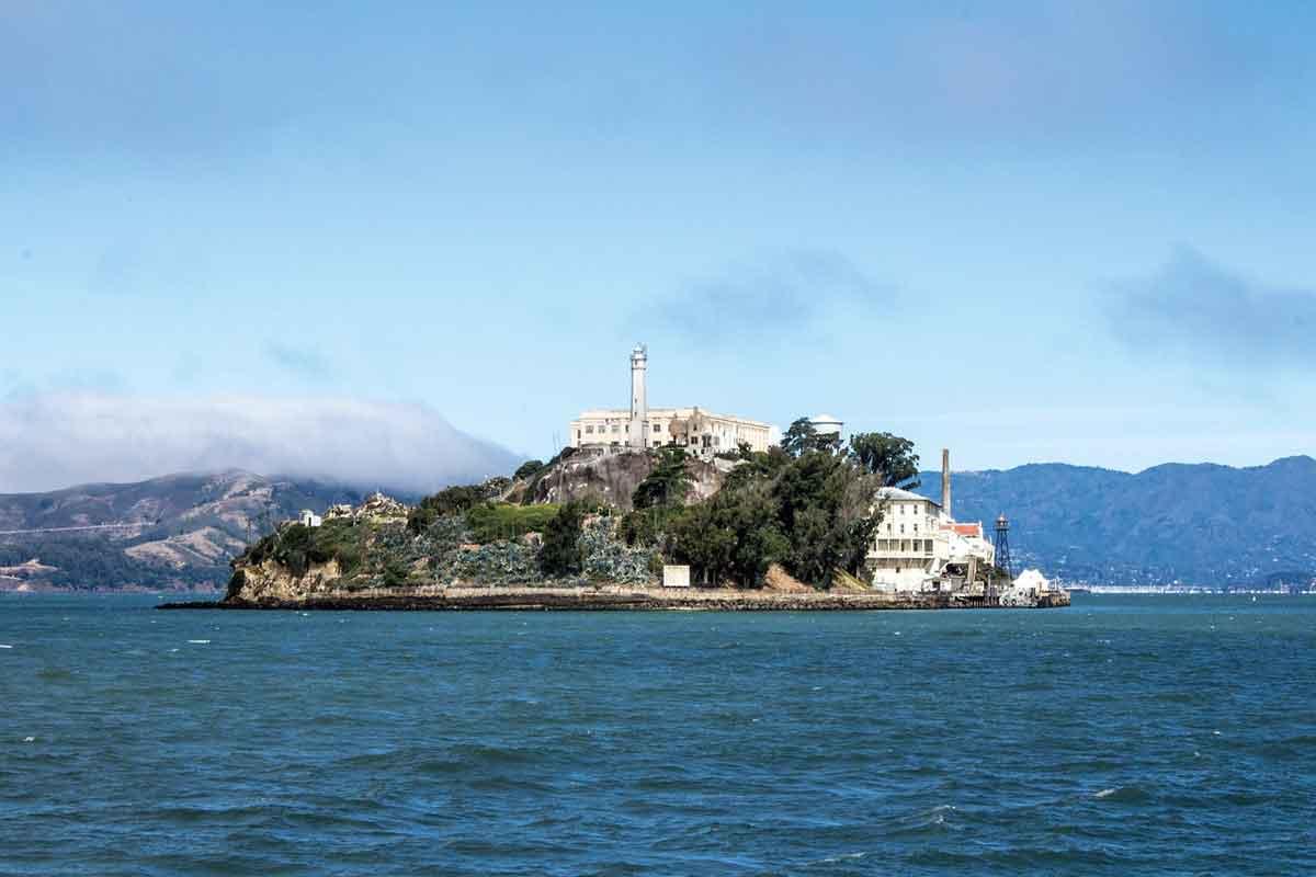 het eiland Alcatraz