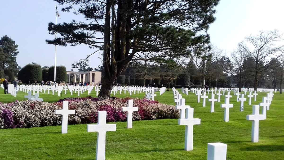 Amerikaanse begraafplaats Colleville sur Mer