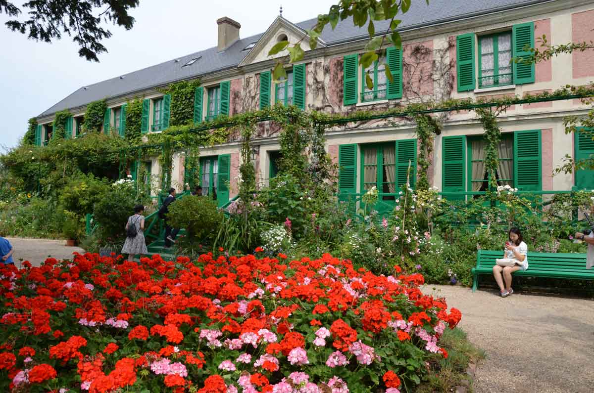 Landhuis Claude Monet in Giverny