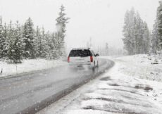 vakantie met de auto in de winter