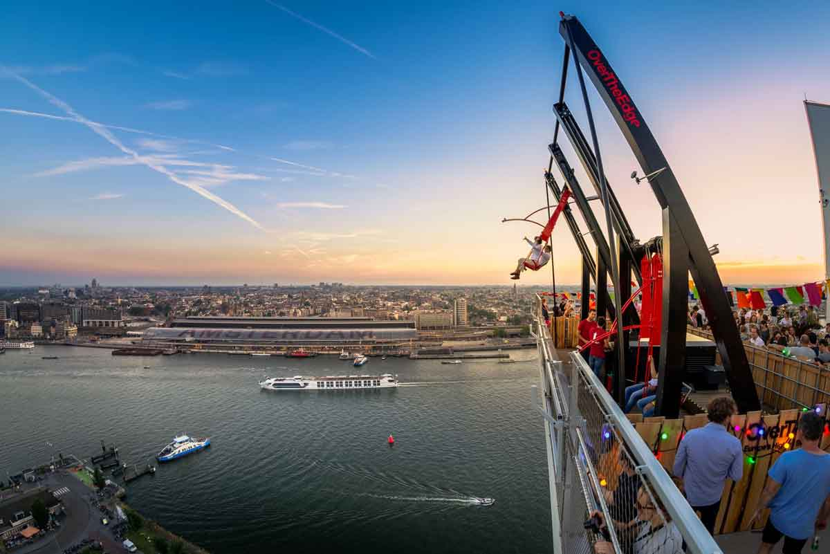Over the Edge - bezienswaardigheid Amsterdam