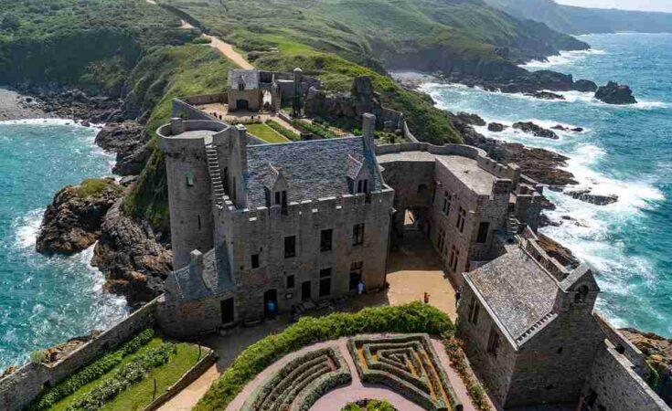 Bretagne kasteel aan de kust