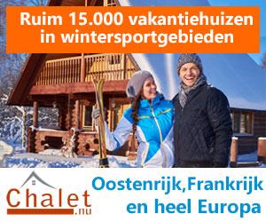 Chalet wintersporthuizen banner
