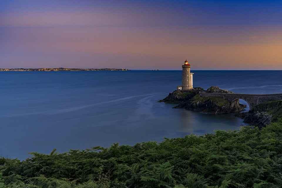 vuurtoren kust Bretagne