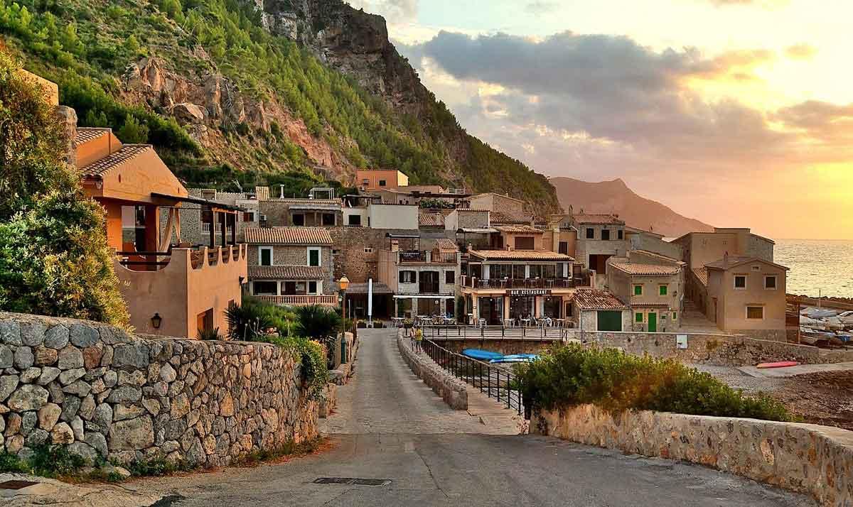 Mallorca huizen met uitzicht