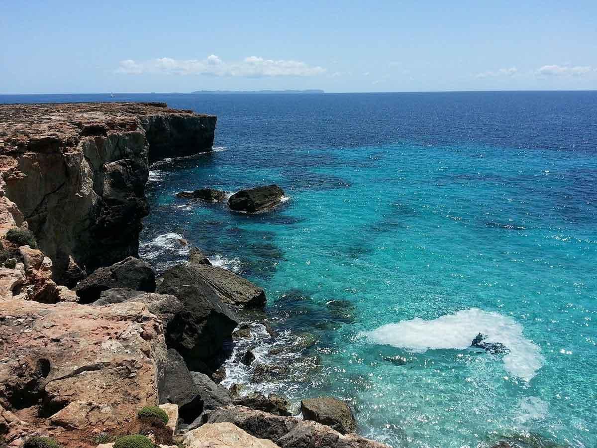 Mallorca rotspartij aan zee