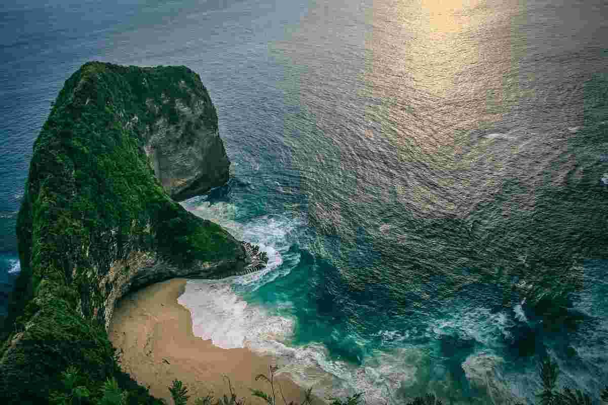 klif op Bali
